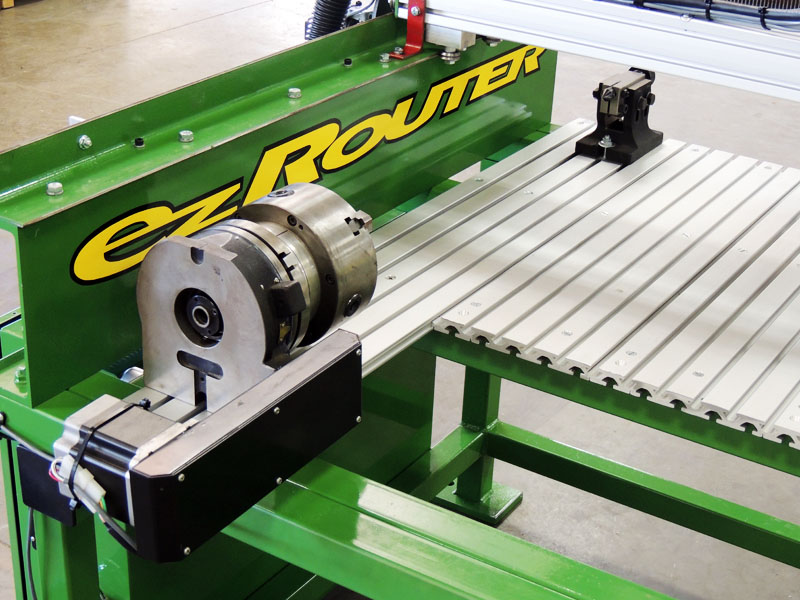 cnc router 4 axis rotary by ezRouter