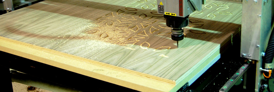 CNC Routers for artist or the production cabinet maker.